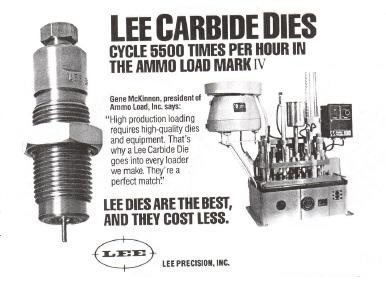 lee carbide  dies